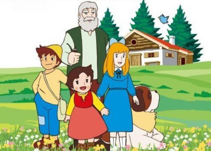 Heidi Çizgi film karakteri resimleri