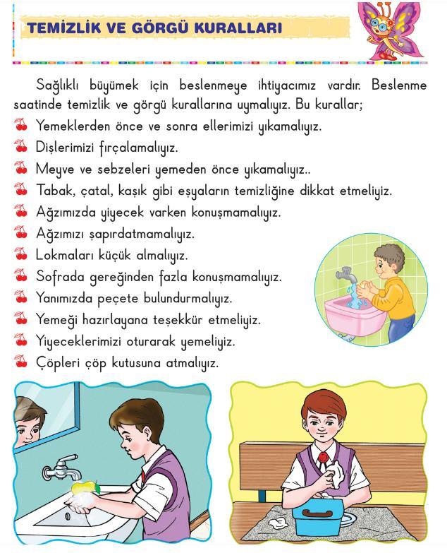 1 Synyf Hayat Bilgisi Okul Heyecanym Konu Anlatymy